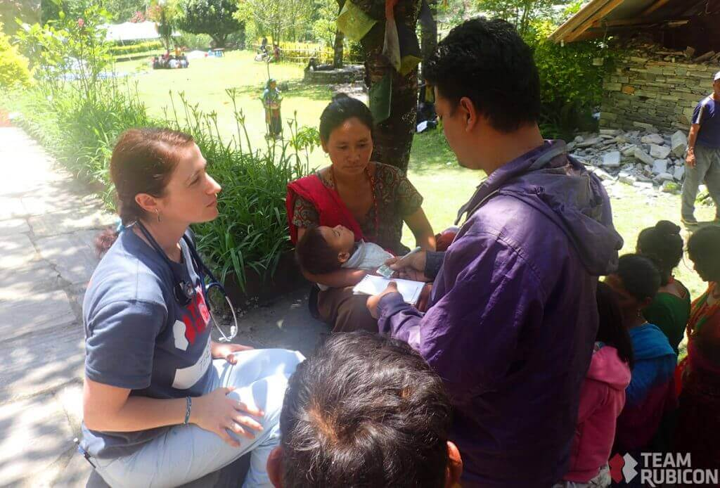 Providing Relief in Remote Villages of Nepal