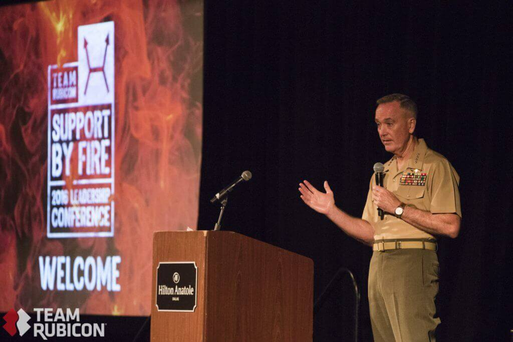 Chairman of the Joint Chiefs of Staff General Dunford Talks Leadership at #TRLC2016