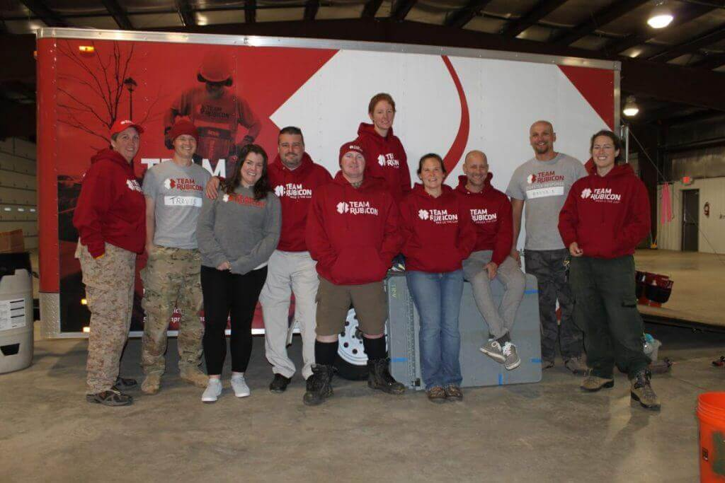Members of Region V deployed to Vernon County, WI in the wake of severe flooding.
