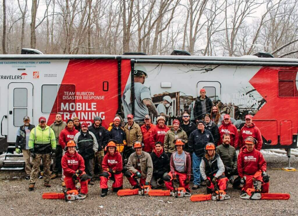 Team Rubicon Welcomes Another Wave of Chainsaw Instructors