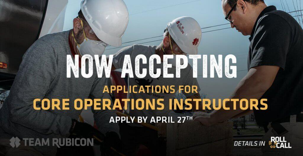 Join Our Core Ops Instructor Cadre