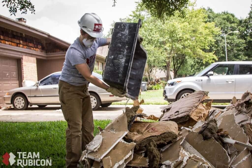 Team Rubicon Tracking on Hurricane Harvey